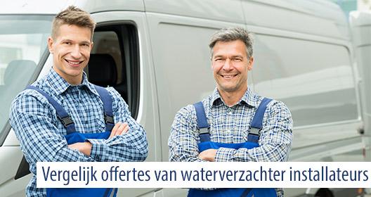 waterhardheid Oost-Vlaanderen